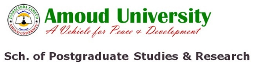 Amoud University-SPGSR