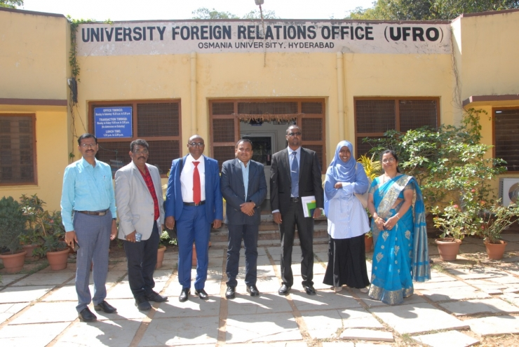 Amoud University Delegation on Official Trip to India